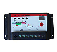 Digital PWM 10A 12V/24V Solar Panel Charge Controller Regulator 12V 24V Autoswitch Solar Panel