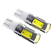 7.5W super brilhante t10 LED de condução diurna luz / carro nevoeiro luz (DC12-24 2pcs)