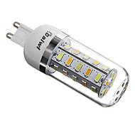 5W G9 LED Mais-Birnen T 36 SMD 5730 350 lm Natürliches Weiß AC 220-240 V