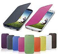 классический кожаный чехол ПУ для Samsung Galaxy S4 9500 (разных цветов)