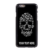 Personalized Case Skull Design Metal Case for iPhone 6 Plus