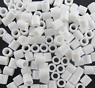 Approx 500PCS/Bag 5MM White Fuse Beads Hama Beads DIY Jigsaw EVA Material Safty for Kids Craft