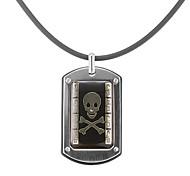 Mode Schädel-Muster Männer Halskette (1 PC)