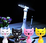 DIY Design Of White LED Kitten Rechargeable Table Lamp (USB Rechargeable)