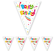 Happy Birthday Flag Banner Party Accessory