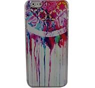 bela capa dura nó plástico chinês para o iphone 6