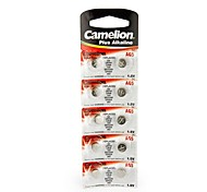 Camelion 1.5V AG5 Alkaline Button Battery (10pcs)