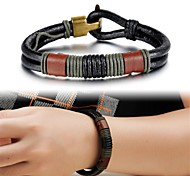 Creative Fashion Leather Men's Bracelet Jewelry