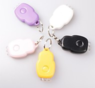 Key Chain Flashlights LED 1 Mode 300 Lumens Rechargeable Others D-Cell Everyday Use / Working - Others ,Black / Pink / Purple / White /