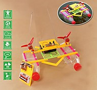 DIY Wind Force Boat Handiwork Novelty Toys with Remote Controller