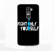 Self Struggle Design Hard Case for LG G2