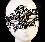 Fashion Frog Pattern Lace Party Mask