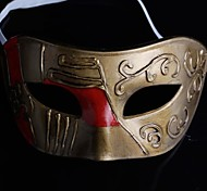 Back-to-ancient Jazz Golden PS Half Face Halloween Party Mask