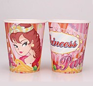 Coway 50PCS Princess Party Birthday Party Disposable Paper Cup Cartoon Environmental Protection