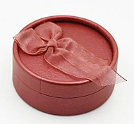 comodo * 8.5 * 3.3 caja 8.5 clásica y elegante en relieve circular de la joyería (color al azar)