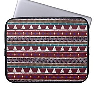 """elonbo Bohemien Stammes Streifen 15 """"Notebook Neopren Schutzhülle für MacBook Pro Retina dell hp acer"""