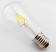 ON Lâmpada Redonda Regulável/Decorativa E26/E27 4.5 W 400 LM 2800-3200 K Branco Quente 4 COB AC 220-240 V T