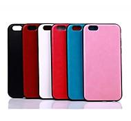 funda de piel para iphone 6 (colores surtidos)