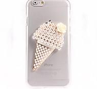 Pearl Ice Cream Design PC Hard Case for iPhone 6 Plus