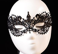 Fashion Bird Pattern Lace Party Mask