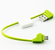 Key Chain Style Portable Micro USB Data Cable for Samsung / HTC