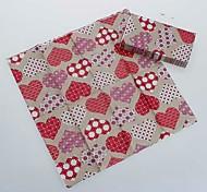 guardanapos coloridos amor (conjunto de 5 pacotes)
