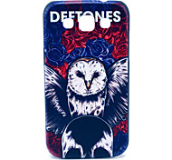 For Samsung Galaxy Case Pattern Case Back Cover Case Owl PC Samsung Win