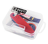 DUUTI Translucent PP Boxed Bike Tire Repair Kit Including Tyre Lever