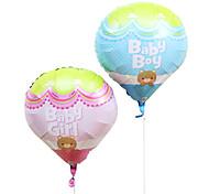 Baby Fire balloon Aluminium Membrane Baby Shower Birthday Party Balloon
