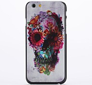 GOLGO with Flowers Embossment Pattern PC Hard Case for iPhone 6