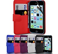 Wallet PU Leather Case for iPhone 6 (Assorted Colors)