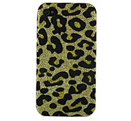Leopard Print Design Pattern Hard Case for iPhone 4/4S (Assorted Colors)