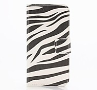 Zebra Pattern Full Body Case with Stand  for iPhone 6