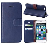 Pure Color PU Leather Case for iPhone 6(Assorted Colors)