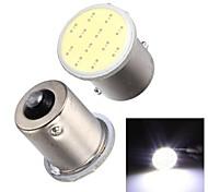 Merdia 1156 2.5W COB 110LM 6000K 11SMD LED Highlight White Light for Car Brake Light / Fog Light