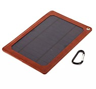 5W External Battery Solar Charger for Phone Samsung S4/5 HTC Blackberry and other Mobile Devices