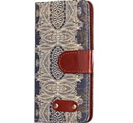 Decorative Design Pattern Oxhide Character Retro PU Leather Case for Samsung Galaxy S5 I9600