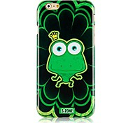 Cartoon Frog Pattern Hard Back Case for iPhone 6