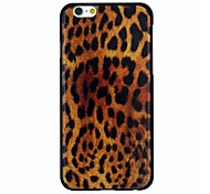Leopard Print Pattern PC Hard Back Cover Case for iPhone 6