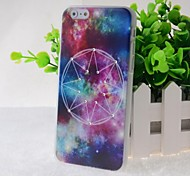 Crystal Surface Galaxy Pattern Hard Case for iPhone 6