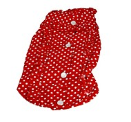 Dog Dress Red Dog Clothes Summer Wedding