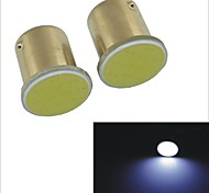 Carking™ 1156 1.7W 12-COB LED White Light Car Lamps(2PCS)