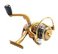 AF4000  Gold  Fishing Reel  AF4000 5.5:1  Spinning  Fishing Reels