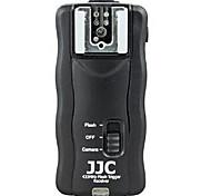 JJC jf-u2 disparador de flash inalámbrico para Nikon / Canon / Pentax (2 receptores)