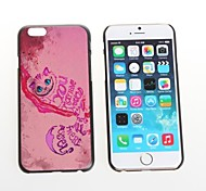 Cat Design Aluminum Hard Case for iPhone 6