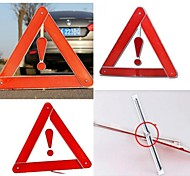 estrada reflexivo aviso triângulo de segurança sinal de perigo alarmes de carro de emergência