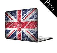 "Vintage Design UK Flag Design Full-Body Protective Plastic Case for MacBook Pro 13""/15"" (Non-Retina)"