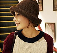 Women Polyester Fedora Hat , Casual Summer