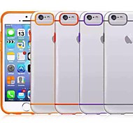 Double Color  TPU Soft Cover for iPhone 6 (Assorted Colors)