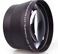 neewer® 2.2x professionelle HD 72mm Teleobjektiv für Canon EOS Rebel 650D, 1100D, 600D, 500D Objektiv